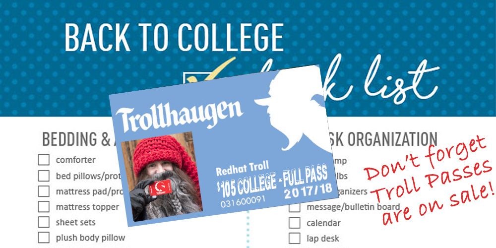 Season Pass Sale | COllege Pass Sale at Trollhaugen, WI